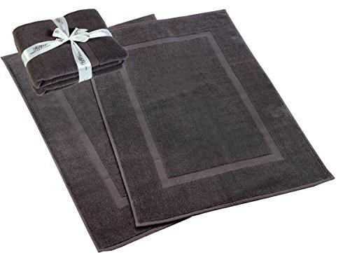 HILLFAIR 900 GSM-Hotel-Spa Tub-Shower Bath Mat Floor Mat -