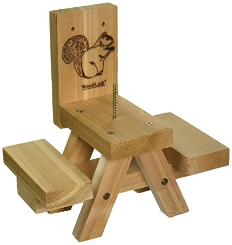 Woodlink SQF7 Picnic Table Ear of Corn Squirrel Feeder (Discontinued by Manufacturer)