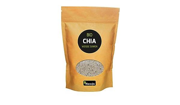 Semillas de Chia blancas Bio - 500 g: Amazon.es: Salud y cuidado personal