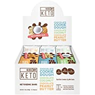 Kiss My Keto Snacks Keto Bars – Keto Chocolate Variety Pack, Nutritional Keto Food Bars, Paleo, Low Carb/Glycemic Keto Friendly Foods, All Natural On-The-Go Snacks, High Quality Fat Bars 3g Net Carbs