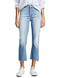 Women's Insider Crop Step Fray Jeans