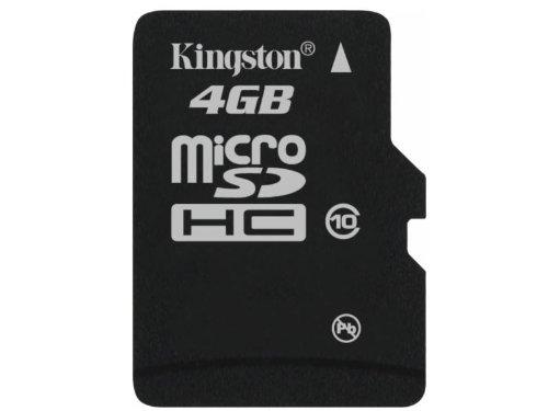 Kingston 4 GB Flash Memory Card SDC10//4GB