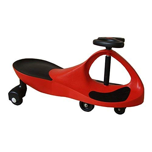 Blazing Red & Black Rolling Coaster The Wiggling Wiggle Race Car Premium Scooter ()