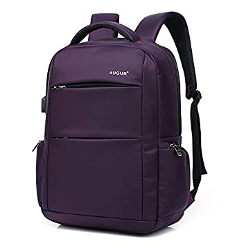 Hannea AUGUR Brand Backpacks USB Charging Laptop Men Teenagers Travel Large  Capacity Casual Fashion Style Back Bag  Amazon.in  Bags 19ed3ab22bf14