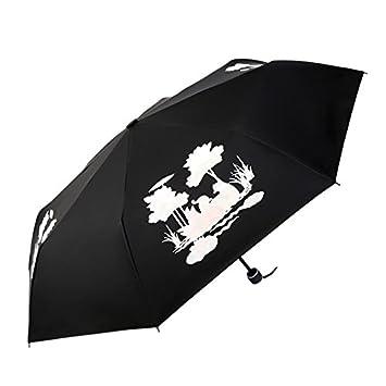 mdrw-fashion paraguas paraguas agua que cambia de color Magic Cambio de color paraguas paraguas