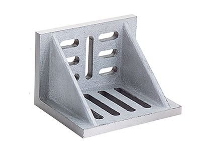 Webbed Angle Plate 3x2-1/2x2 Slotted from ezMachineTools