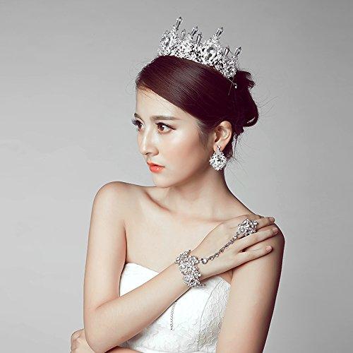 Amazon generic wedding hair accessories yarn korean wedding generic wedding hair accessories yarn korean wedding dai y the new princess style wedding decoration junglespirit Images