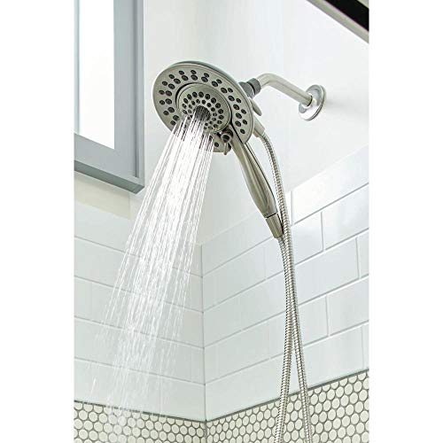 Lahara Single Delta Handle (Delta Lahara In2ition Two-In-One Single-Handle 5-Spray Tub and Shower Faucet in Stainless)