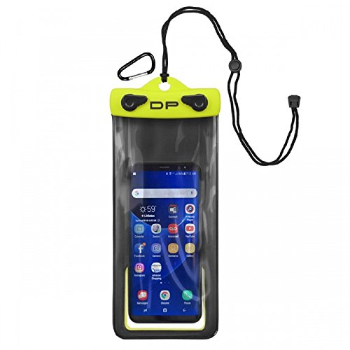Kwi-Tek Orange Cycle Parts Dry Pak Dry Bag for iPhone, Android, Camera, Water Proof Cell Phone Case 4