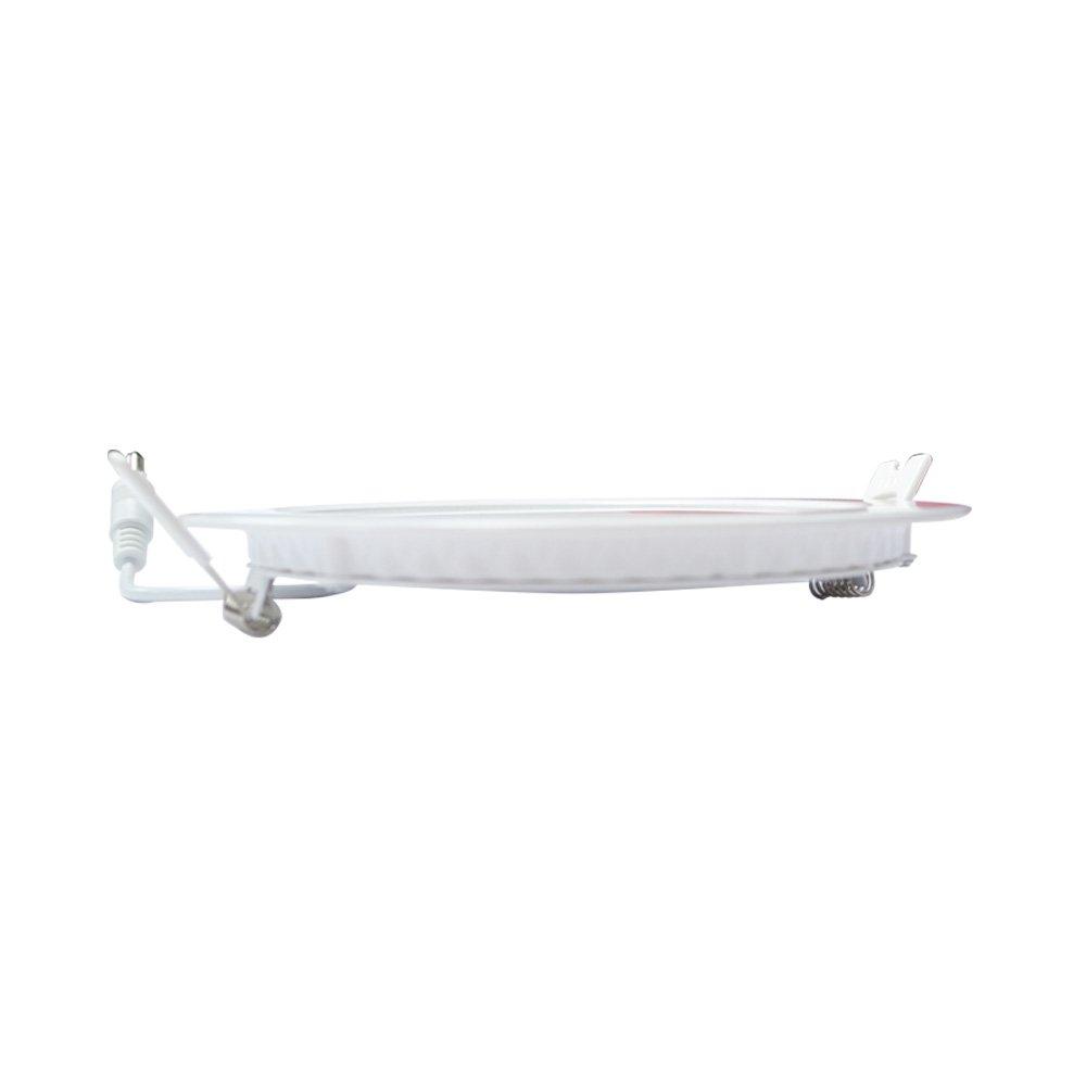 Blanc, /Ø 18 W Vision-EL 777571 Plafonnier LED 4000/°K Aluminium//PC -225 mm