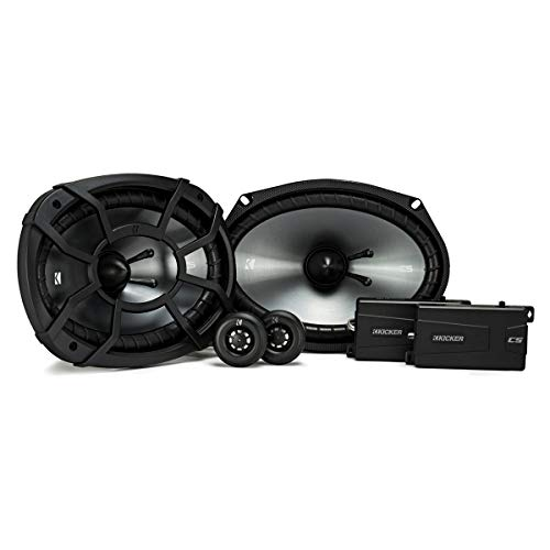 "Kicker - Cs Series 6"" X 9"" 2-way Car Speakers With Polypropy"