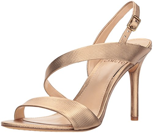Vince Camuto Women's Costina Heeled Sandal, Sunkissed Bronze, 9.5 M US