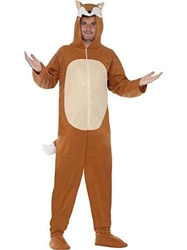 Large Brown Men's Fox Costume (Mens Fox Costume)