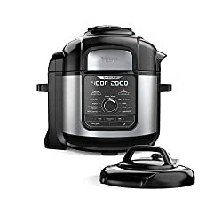 Image of the product Ninja FD401 Foodi 8 qt 9 that is listed on the catalogue brand of Ninja. This item has been rated with a 4.9 scores over 5