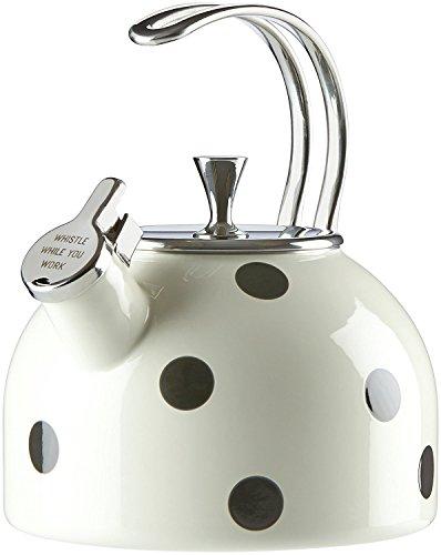 kate spade new york All in Good Taste Deco Dot 2.5 Quart Tea Kettle