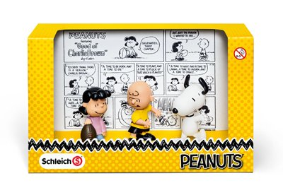 Schleich 22014 Peanuts Classic Scenery Pack, Yellow