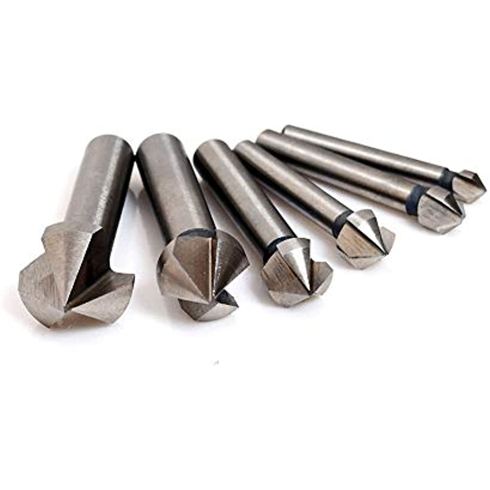 Carbide Tipped 1.625 Diameter, 1-5//8 1 5//8 Counterbore 4 Flutes Straight Shank USA Made, 8 1//8 OAL 1 1//4 Shank Diameter 56423