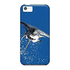 Iphone High Quality Tpu Case/ Space Shuttle GJt3474abuI Case Cover For Iphone 5c