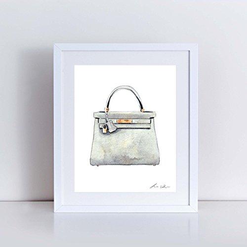 Hermes Gray Bag - 1