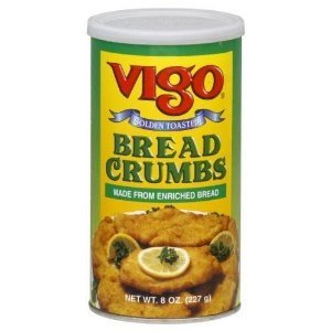 Vigo Bread Crumbs Golden Toasted 8 OZ (Pack of 2)