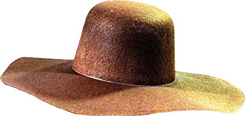 Jeeper Creeper Costume (UHC Men's The Creeper Hat Jeepers Creepers Movie Theme Halloween Accessory)