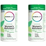 Rainbow Light, Women's Organic Multivitamin, 120 Count (2 pck)