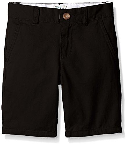 The Children's Place Boys' His Chino Shorts, Black, 10 by The Children's Place