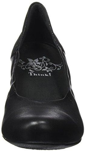 de Kombi Zapatos Tacón 09 Mujer Think Zwoa para Negro 282210 Sz wqxCCfzt7