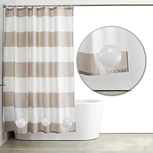 Deen Housekeeper Magnetic Shower Curtain Weights for Shower Curtains, Tablecloths, Window Curtains Clips 3 Sets(6 Packs)