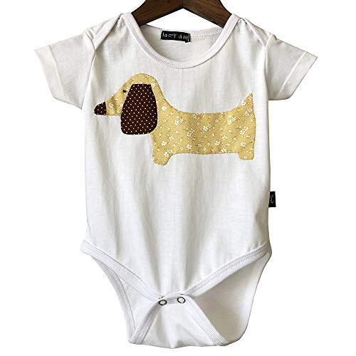 Dachshund Baby Onesie Clothes, Dog Baby Outfit Bodysuit, Baby Shower Gifts Gender Neutral