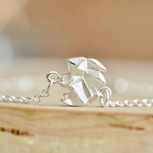 Charm Bracelet in Sterling Silver 925 (Sterling Silver Rabbit Charm)