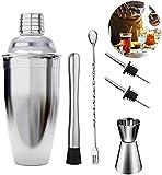 Cocktail Shakers 6pcs / Bartender Tools Kit Professional Cocktail Shaker Bar Set Inicio/Accesorios para barman con…