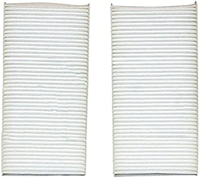 Set of 2 Particulate Cabin Air Filters TYC For Acura RSX Honda Civic Element