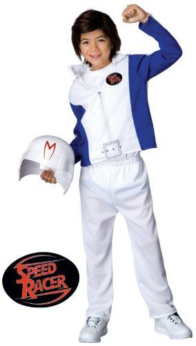Economy Speed Racer Kids Costume (Large) -