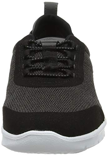 Femme dark Basses Eu 37 Sneakers Clarks Allenabay Step Grey Noir Gris qxBaTIw