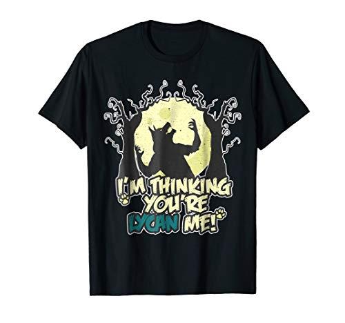 Spooky Werewolf Funny Lycan Me Pun Halloween T-Shirt