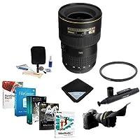 Nikon 16-35mm F/4G AF-S NIKKOR ED (VR-II) Vibration Reduction Zoom Lens - USA Warranty - Bundle w/77mm WA UV Filter, Lens Wrap, Lens Shade, Clean Kit, LensPen Cleaner, Pro Software Package