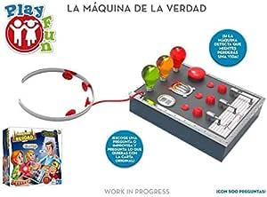 IMC Toys S.A. Juego la Maquina de la Verdad ¿Cuanto Sabes de Tus Amigos y Familiares?: Amazon.es: Juguetes y juegos