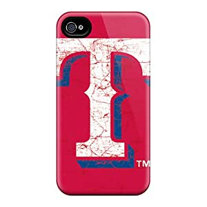 High Quality Phone Cover For Iphone 6 With Custom Stylish Texas Rangers Pattern TimeaJoyce