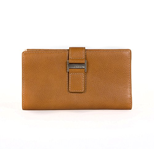 R Madison 904-4627 Kylie RFID Checkbook Clutch in Toast by R Madison