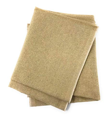 100% Natural, Untreated Flax Linen Bakers Bread Couche Proofing Cloth 31 x 35.5 inches