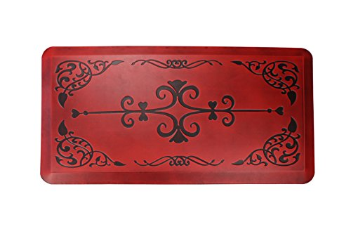 AMCOMFY Kitchen Anti Fatigue Mat,Comfort Floor Mats,Standing Desk Mats,Antique Series (20