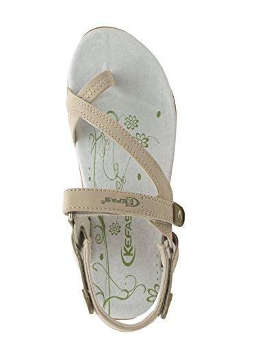 Kefas Sandalen Damen Beige Beige Kefas Kefas Damen Damen Sandalen Beige Damen Kefas Sandalen Sandalen P4Eqtzwxn