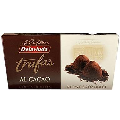 Delaviuda - Trufas Al Cacao Estuche, 100 g: Amazon.es ...