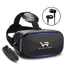 SAMONIC 3D VRゴーグル 「イヤホン、Bluetoothコントローラ、...