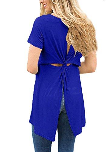 Aleumdr - Camisas - para mujer Azul