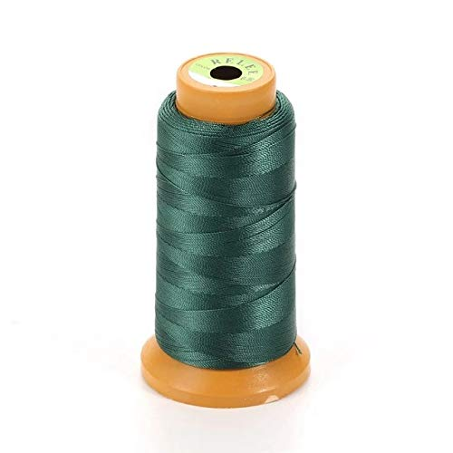 Laliva 16 Colors Beads Nylon Silk Cord Thread Line 0.4mm 0.6mm 0.9mm 1.2mm Fit Necklace DIY for Jewelry Making No Elastic Findings A113 - (Color: Ink Green, Size: 1.2mm) ()