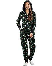 Outdoor broek voor dames, kerstpyjama's, one-piece pyjama's, vinnen, print, hoody, homewear, one-piece broek, sportbroek, joggingbroek, vintage broek
