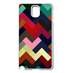 Samsung Galaxy Note 3 Cases Colorful Geometrix, Abstract Color Cases Jumphigh, {White}