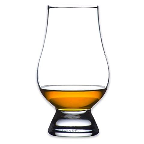 Etched Monogram Glencairn Crystal Whisky Glass